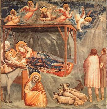 Giotto Nativity 1305 TheGothic Art Period