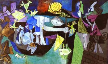 Pablo PicassoPicasso The Old Fisherman